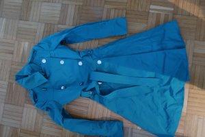 KAREN MILLEN Trenchcoat turquoise