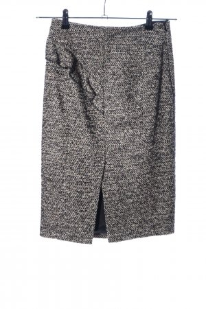 KAREN MILLEN Jupe en tweed gris clair style d'affaires