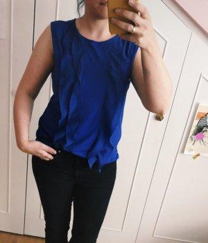 KAREN MILLEN Muscle Shirt blue