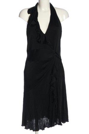 KAREN MILLEN Sukienka z falbanami czarny Elegancki