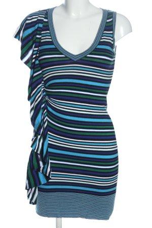 KAREN MILLEN Flounce Dress striped pattern casual look