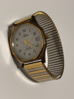 Analog Watch gold-colored-silver-colored