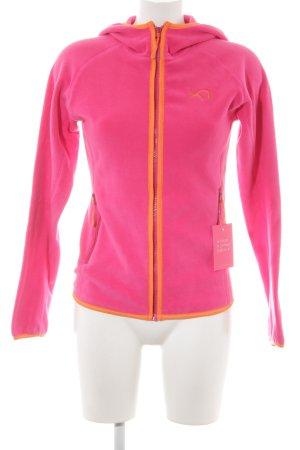 Kari Traa Fleecejacke pink Casual-Look