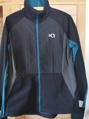 Kari Traa Sports Jacket black-petrol
