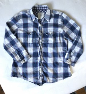 Abercrombie & Fitch Checked Blouse multicolored cotton