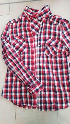 Laura T: Camicia a scacchi rosso