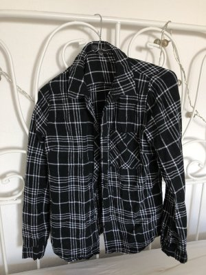 Atmosphere Flannel Shirt black-white