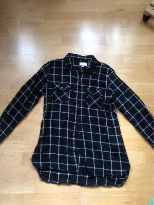 Apricot Shirt Blouse black-white cotton