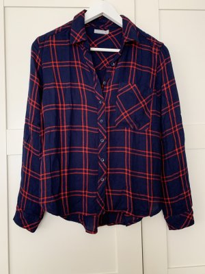 6ixty 8ight Long Sleeve Blouse blue-red