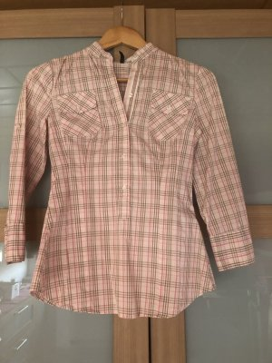 Benetton Stand-Up Collar Blouse multicolored