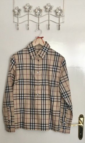 Burberry Checked Blouse multicolored cotton