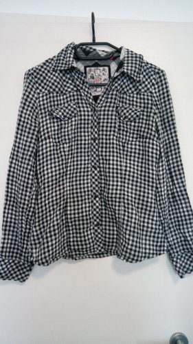 QS by s.Oliver Checked Blouse multicolored