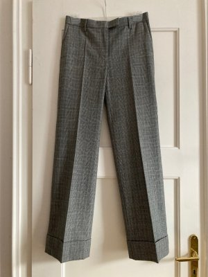 ARKET Woolen Trousers dark grey wool