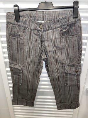 Karierte coole Shorts Cargohose Gr. 38