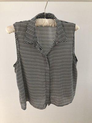 Karierte Crop-Bluse von Zara