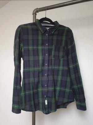 Springfield Camicia blusa blu-verde