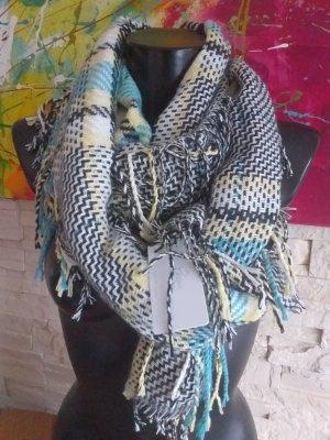 Karierte Herbst - Winter Schal