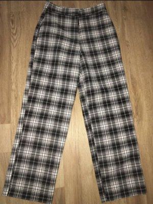 ASOS DESIGN Jersey Pants black-white