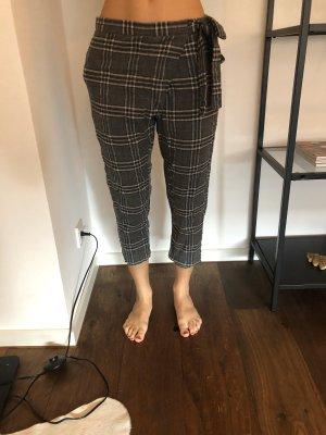Zara Pantalón de pinza gris verdoso
