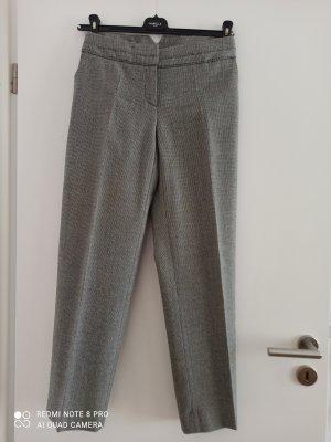 Max Mara Pantalone di lana bianco-nero