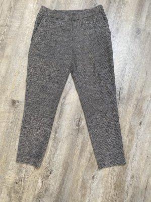 Zara Pantalone a pieghe multicolore Cotone