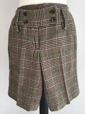 Karierte kurze Winter-Shorts von Sisley