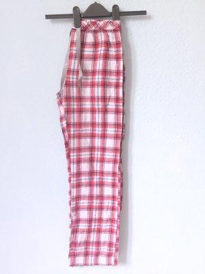 TCM Pigiama bianco-rosso