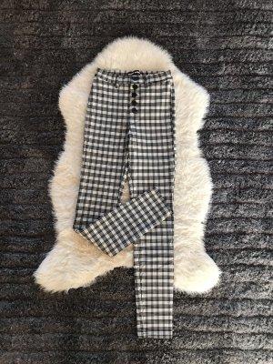 Tally Weijl Drainpipe Trousers white-black