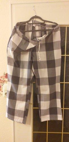 Janina Pyjama blanc-bleu foncé