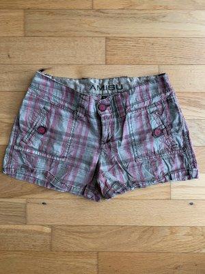Karierte Shorts/Hotpants