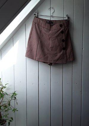 Karierte Shorts von Zara
