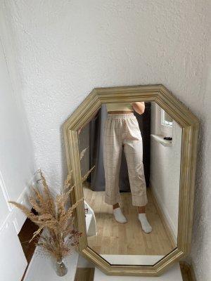 Karierte Stoffhose