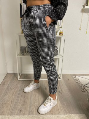 American Vintage Hoge taille broek zwart-wit