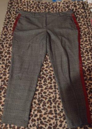 Yessica Jersey Pants grey-dark red