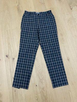 Atelier Gardeur Pantalon chinos gris ardoise-jaune clair coton