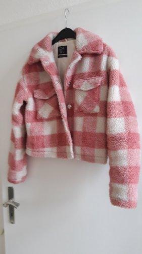 C&A Clockhouse Fleece jack wolwit-rosé