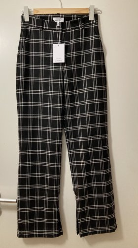 & other stories Woolen Trousers black-white wool