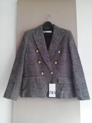 Zara Blazer in tweed multicolore Poliestere