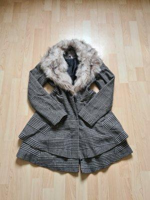 Asos Winter Coat white-grey
