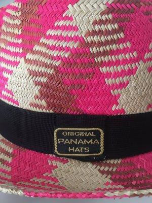 Panama hoed veelkleurig