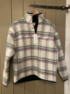 American Vintage Fleece Jumper multicolored