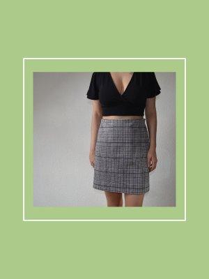 Asymmetry Skirt slate-gray-pale blue