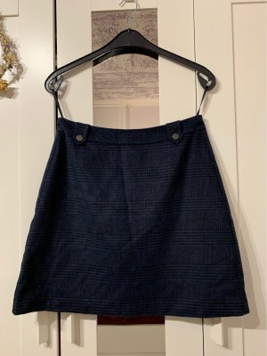 s.Oliver Wool Skirt dark blue-black