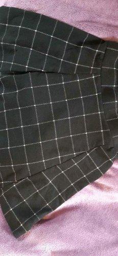 NoName Spódnica z koła biały-czarny