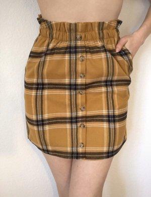 Colloseum High Waist Skirt gold orange-brown
