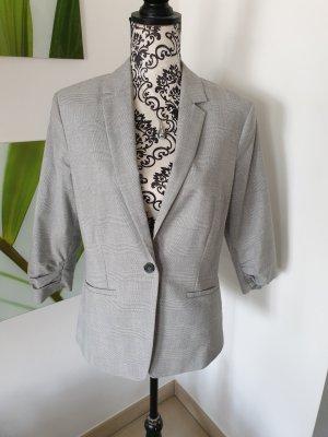 Orsay Blazer stile Boyfriend bianco-grigio chiaro Poliestere