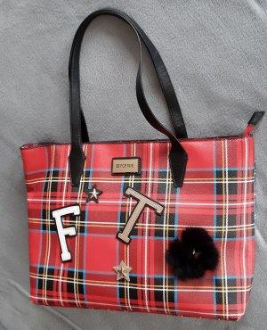 Shopper rouge-noir