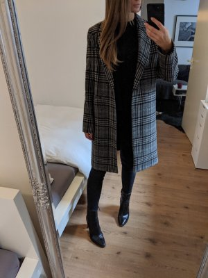Karierter Zara Mantel 36