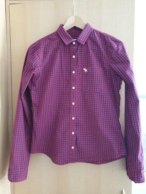 Abercrombie & Fitch Koszula w kratę ciemnoczerwony