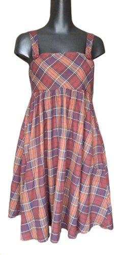 Avanti Pinafore dress multicolored cotton